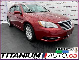 Used 2013 Chrysler 200 LX+GPS+Remote Start+Cruise Control+USB & AUX Input for sale in London, ON