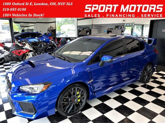 2019 Subaru WRX STI Sport-tech+ApplePlay+Borla Exhaust+RECARO Seat