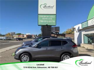 Used 2017 Nissan Rogue SV REMOTE START | HEATED SEATS | POWER SEAT | ALLOY WHEELS | BACK UP CAMERA-USED EDMONTON NISSAN DEALER for sale in Edmonton, AB