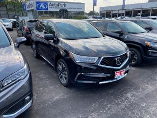 Used 2018 Acura MDX Navigation Package AWD, LEATHER, SUNROOF, NAVIGATION for sale in Mississauga, ON