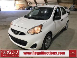 Used 2017 Nissan Micra S 5D HATCHBACK 5SP for sale in Calgary, AB