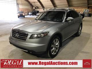 Used 2006 Infiniti FX45 4D Utility AWD for sale in Calgary, AB