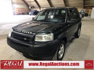 Used 2003 Land Rover Freelander 4D Utility AWD for sale in Calgary, AB