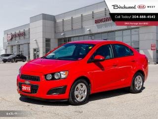 Used 2015 Chevrolet Sonic LS for sale in Winnipeg, MB