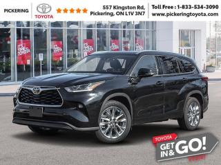 New 2021 Toyota Highlander LIMITED AWD for sale in Pickering, ON