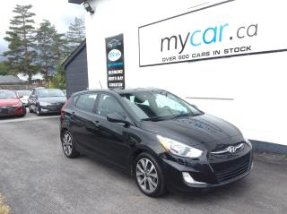 Used 2017 Hyundai Accent SUNROOF. ALLOY. HEATED SEATS. BACKUP CAM. for sale in Richmond, ON