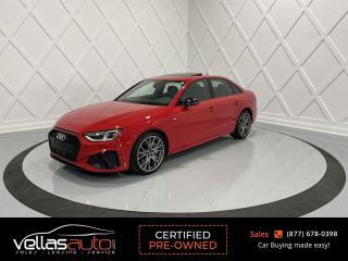 Used 2020 Audi A4 2.0T Progressiv S-LINE| NAVI| LTHR| SUNROOF| 19ALLYS for sale in Vaughan, ON
