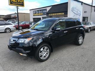 Used 2009 Acura MDX COMPLETE SERVICE RECORDS  CERTIFIED for sale in Etobicoke, ON