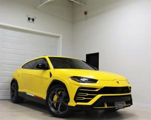Used 2019 Lamborghini Urus BANG OLUFSEN 640 HP NAVIGATION SHOWROOM CONDITION for sale in North York, ON