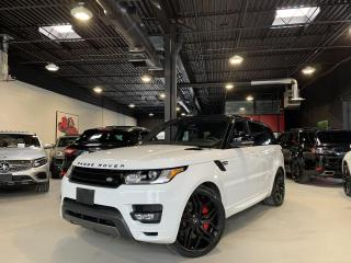 Used 2017 Land Rover Range Rover Sport HSE ! DYNAMIC PKG !! SUPERCHARGED ! 22' WHEELS !!! for sale in North York, ON