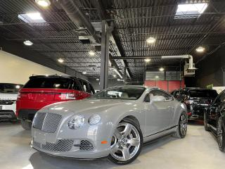 Used 2012 Bentley Continental GT COUPE !! 6.0L/ W12 /567 hp ! MULLINER  EDITION !!! for sale in North York, ON