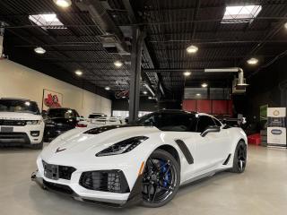Used 2019 Chevrolet Corvette ZR1 ! TRACK PERFORMANCE PKG  !! CARBON FIBER !!! for sale in North York, ON