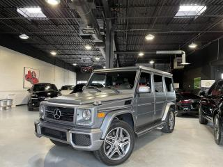Used 2014 Mercedes-Benz G-Class 63 AMG SPORT PKG  !!! DESIGNO EXCLUSIVE PKG !!! for sale in North York, ON