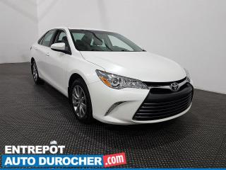 Used 2017 Toyota Camry XLE Cuir - Toit ouvrant - Navigation - Climatiseur for sale in Laval, QC