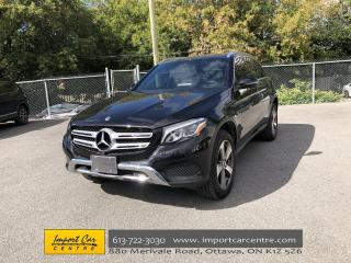 Used 2018 Mercedes-Benz GLC 300 PANO ROOF  NAVI  BLIS  360 CAM  PARK ASSIST for sale in Ottawa, ON