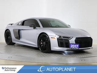 Used 2017 Audi R8 V10 Plus, Quattro, Ceramic Brakes, 610 HP! for sale in Brampton, ON