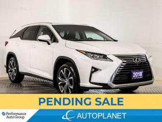 Used 2018 Lexus RX 350 L AWD, Luxury, 7-Seater, Navi, 360 Cam, Sunroof! for sale in Brampton, ON