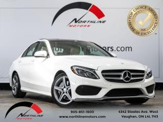 Used 2017 Mercedes-Benz C-Class C 300/Navigation/Blindspot Assist/Pano sunroof for sale in Vaughan, ON
