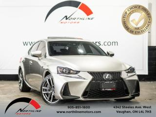 Used 2017 Lexus IS 350 F-SPORT AWD/Navigation/Backup Cam/Sunroof for sale in Vaughan, ON