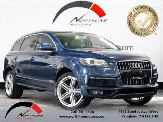Used 2014 Audi Q7 3.0L TDI Tech/Sline/FCollisionW /Pano R/7pass/Nav/ for sale in Vaughan, ON