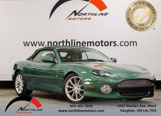 Used 2002 Aston Martin DB7 Vantage/Leather/Heated Seats/Premium Sound for sale in Vaughan, ON