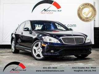 Used 2009 Mercedes-Benz S-Class 4.7L V8/Navi/Sunroof/Rear Heated seats/ for sale in Vaughan, ON
