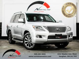 Used 2009 Lexus LX 570 Base/navi/moonroof/backup cam/8 seater/blind spot for sale in Vaughan, ON
