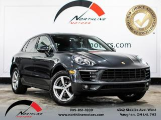 Used 2017 Porsche Macan B spot/Backup Cam/accident FREE/single owner/nav for sale in Vaughan, ON