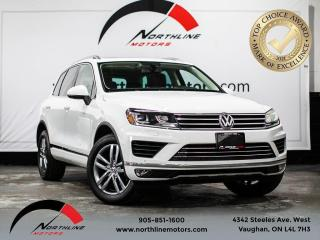 Used 2016 Volkswagen Touareg Lux/navigation/360 cam/blind spot/pano sunroof for sale in Vaughan, ON