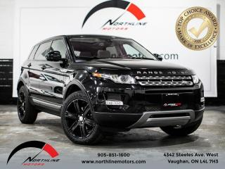 Used 2014 Land Rover Evoque Pure Plus/sunroof/navigation/back up cam/ for sale in Vaughan, ON