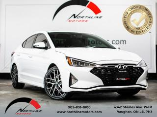 Used 2020 Hyundai Elantra Sport Manual/BACKUP CAM/SUNROOF/BLIND SPOT for sale in Vaughan, ON