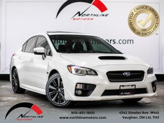 Used 2016 Subaru WRX 4dr Sdn Man w-Sport Pkg/SUNROOF/B SPOT/BACKUP CAM for sale in Vaughan, ON