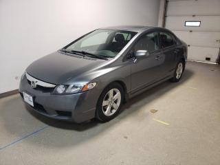 Used 2009 Honda Civic Sdn Sport Local 52MPG Alloys Sunroof Reliable for sale in Brandon, MB