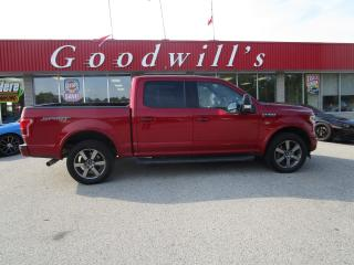 Used 2017 Ford F-150 CLEAN CARFAX! HEATED/ COOLED LEATHER! MUCH MORE! for sale in Aylmer, ON