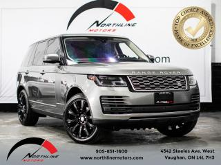 Used 2018 Land Rover Range Rover HSE/360CAM/NAV/PANOSUNROOF/ACCIDENT FREE/BLINDSPOT for sale in Vaughan, ON