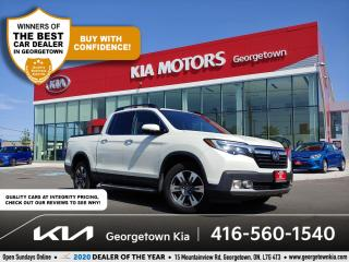 Used 2017 Honda Ridgeline TOURING | CLN CRFX | SUNROOF | NAV | HTD SEATS for sale in Georgetown, ON
