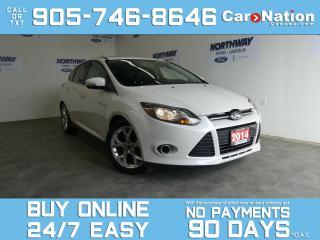 Used 2014 Ford Focus TITANIUM  | LEATHER | ROOF | NAV | HATCHBACK |63KM for sale in Brantford, ON