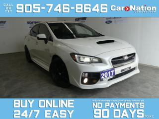 Used 2017 Subaru WRX STI | AWD | LEATHER | NAV | ROOF | INVIDIA EXHAUST for sale in Brantford, ON