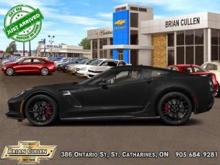 Used 2019 Chevrolet Corvette Z06 2LZ  - Low Mileage for sale in St Catharines, ON