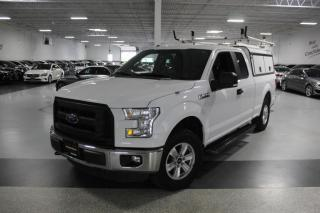Used 2016 Ford F-150 NO ACCIDENTS I REAR CAM I 4X4 I 5.0L V8 I ARE COMMERCIAL CAP for sale in Mississauga, ON