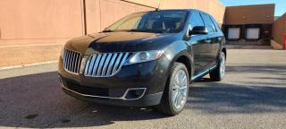 Used 2013 Lincoln MKX AWD 4dr, LEATHER, PANO ROOF, REMOTE STARTER, BACK UP CAM for sale in Calgary, AB