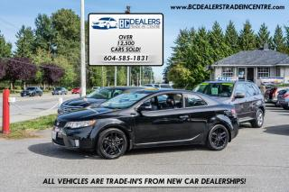 Used 2010 Kia Forte Koup Koupe SX, Leather Heated Seats, Bluetooth, Alloys for sale in Surrey, BC