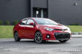 Used 2016 Toyota Corolla SPKG|ROOF|BACKUP|HEATED SEATS|LOW KM |GREAT CONDITION for sale in North York, ON