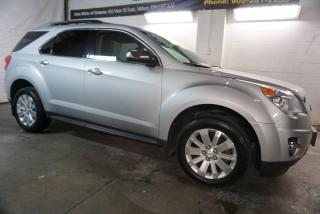 Used 2011 Chevrolet Equinox LTZ V6 AWD LUXURY NAVI CAMERA DVD CERTIFIED 2YR WARRANTY HEATED LEATHER BLUETOOTH ALLOYS CRUISE for sale in Milton, ON