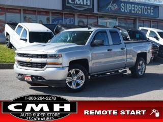 Used 2018 Chevrolet Silverado 1500 Custom  CAM REM-START 20-AL for sale in St. Catharines, ON