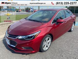 Used 2017 Chevrolet Cruze Premier  PREMIER, SUNROOF, NAV, LEATHER, 19