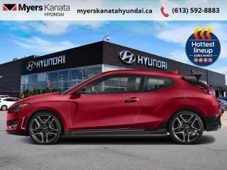New 2022 Hyundai Veloster N Manual  - $264 B/W for sale in Kanata, ON