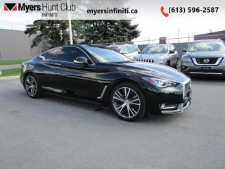 Used 2017 Infiniti Q60 3.0T for sale in Ottawa, ON