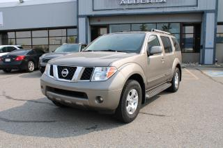 Used 2007 Nissan Pathfinder SE 4WD for sale in Calgary, AB