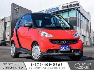 Used 2013 Smart fortwo SEMI-AUTO AIR CONDITIONG CLEAN CARFAX for sale in Scarborough, ON